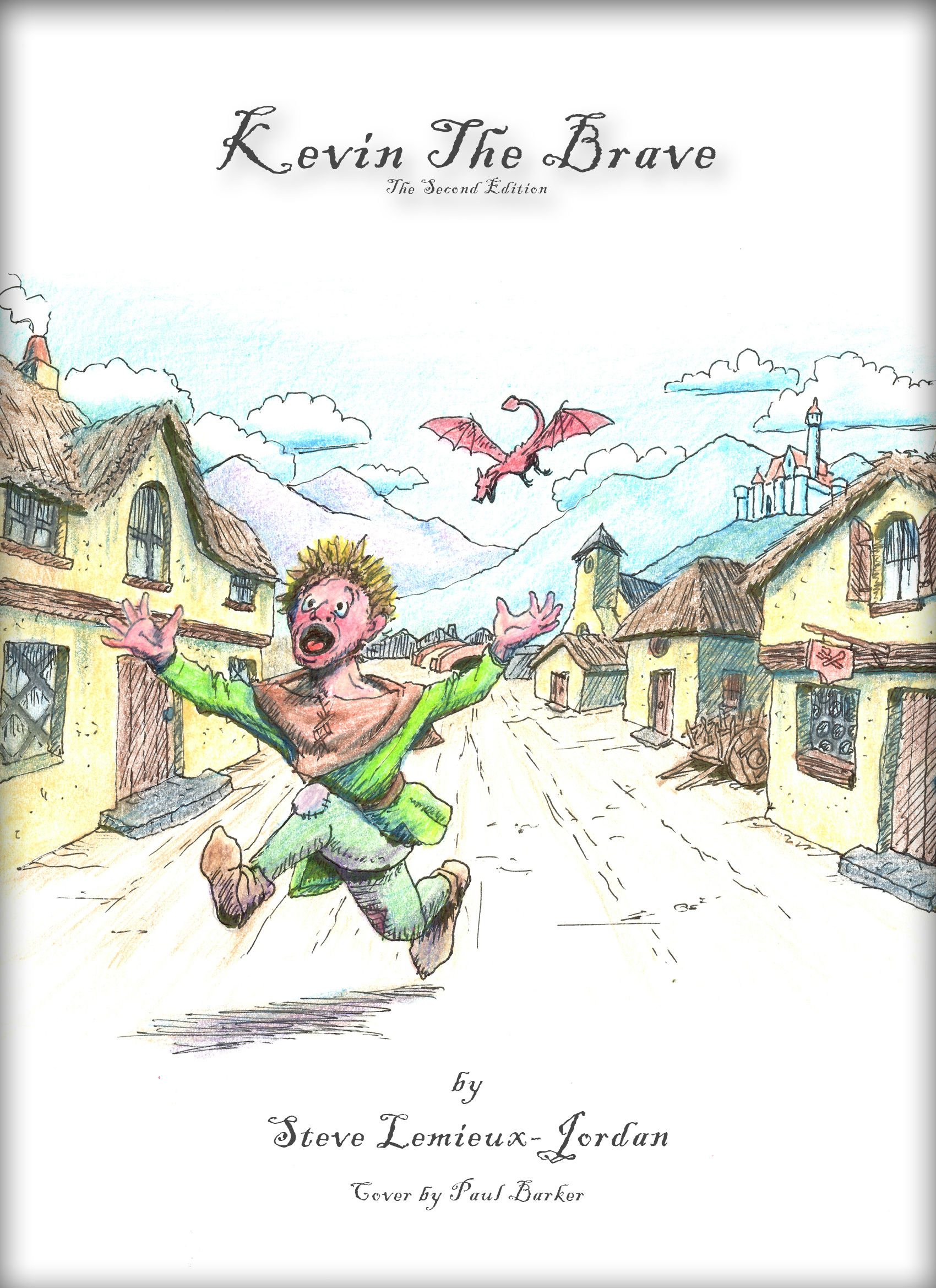 Kevin The Brave 2nd Edition Cover